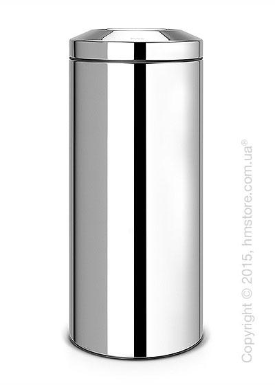 Ведро для мусора Brabantia Flame Guard 30 л, Brilliant Steel