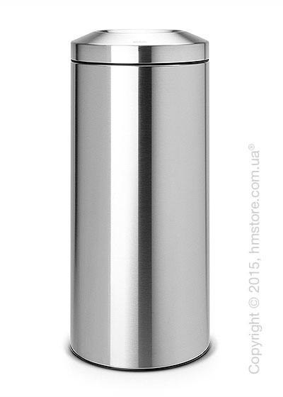 Ведро для мусора Brabantia Flame Guard 30 л, Matt Steel