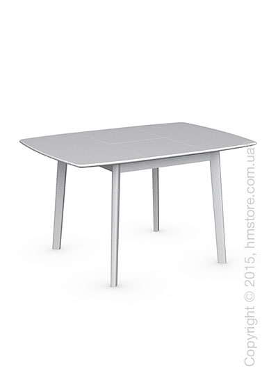Стол Calligaris Cream Table, Square wooden extending table, Lacquered matt optic white and Lacquered matt optic white