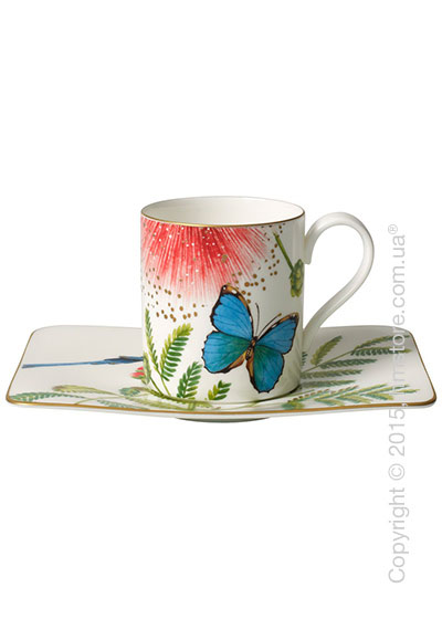 Чашка с блюдцем Villeroy & Boch коллекция Amazonia 210 мл, 2 предмета