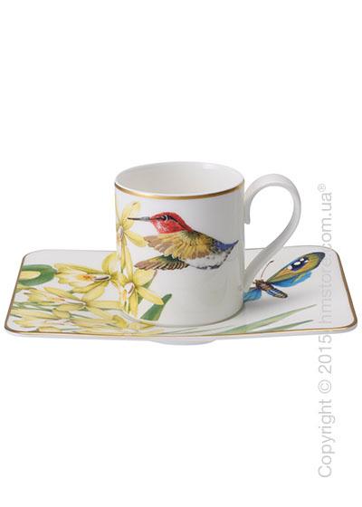 Чашка для эспрессо с блюдцем Villeroy & Boch коллекция Amazonia 80 мл, 2 предмета