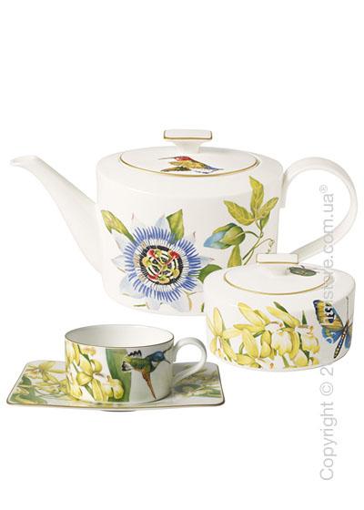 Чайный сервиз Villeroy & Boch коллекция Amazonia на 6 персон, 15 предметов