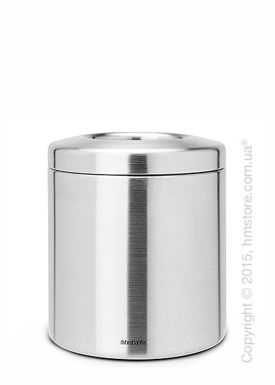Ведро для мусора Brabantia Table Bin, Metal Top, Matt Steel with Metal Ring