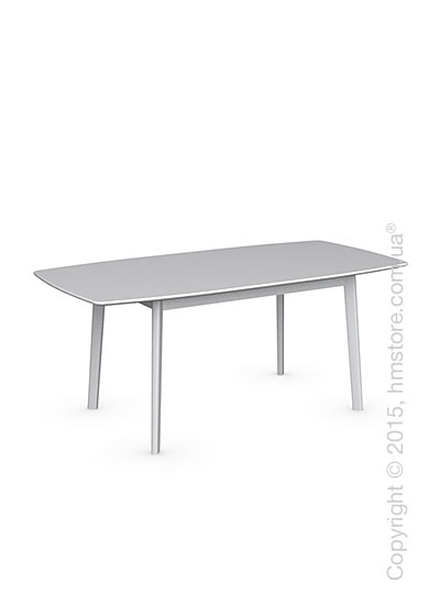 Стол Calligaris Cream Table, Rectangular wood extending table, Lacquered matt optic white and Lacquered matt optic white