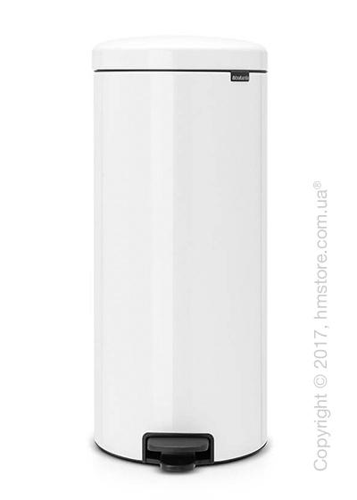 Ведро для мусора Brabantia Pedal Bin NewIcon 30 л, White