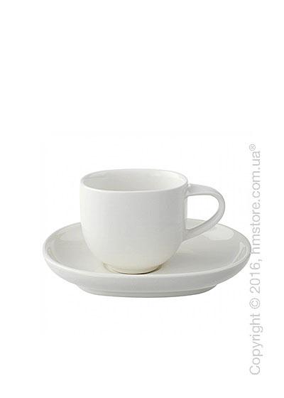 Чашка с блюдцем Villeroy & Boch коллекция Urban Nature, 2 предмета