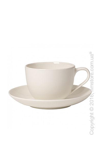 Чашка с блюдцем Villeroy & Boch коллекция For Me 230 мл