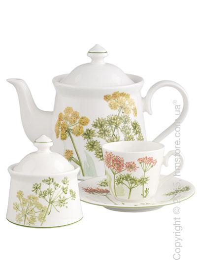 Чайный сервиз Villeroy & Boch коллекция Althea Nova на 6 персон, 14 предметов