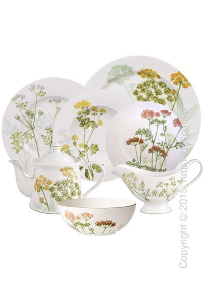 Набор фарфоровой посуды Villeroy & Boch коллекция Althea Nova на 6 персон, 50 предметов