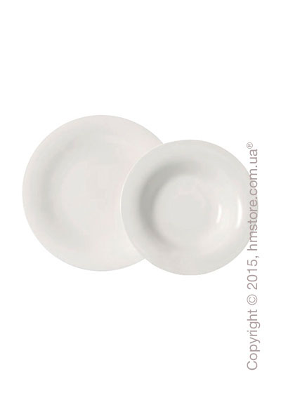 Набор тарелок Villeroy & Boch коллекция New Cottage Basic на 6 персон, 12 предметов