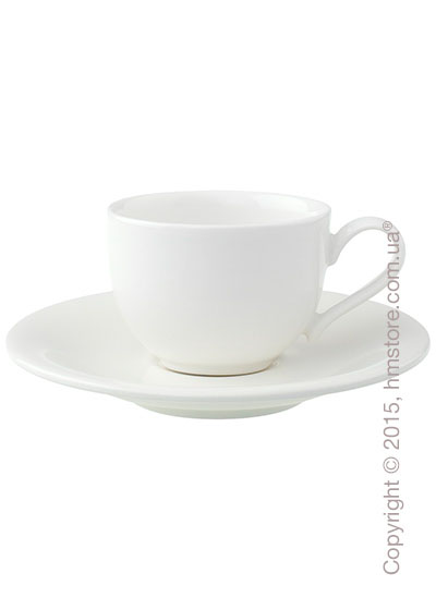 Чашка с блюдцем Villeroy & Boch коллекция New Cottage Basic 80 мл, 2 предмета