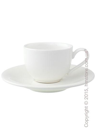 Чашка для эспрессо с блюдцем Villeroy & Boch коллекция New Cottage Basic 80 мл, 2 предмета