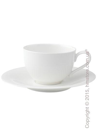 Чашка с блюдцем Villeroy & Boch коллекция New Cottage Basic 250 мл, 2 предмета