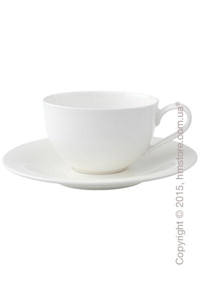 Чашка с блюдцем Villeroy & Boch коллекция New Cottage Basic 390 мл, 2 предмета