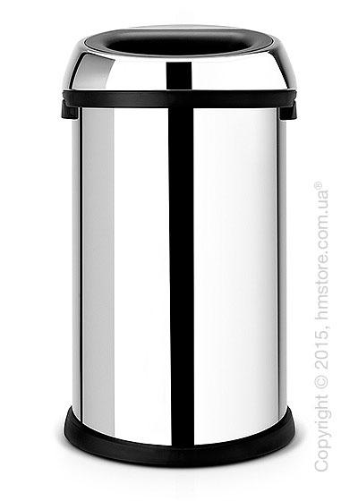 Ведро для мусора Brabantia Open Top Bin 50 л, Brilliant Steel