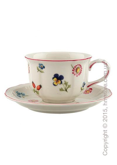 Чашка с блюдцем Villeroy & Boch коллекция Petite Fleur 200 мл, 2 предмета