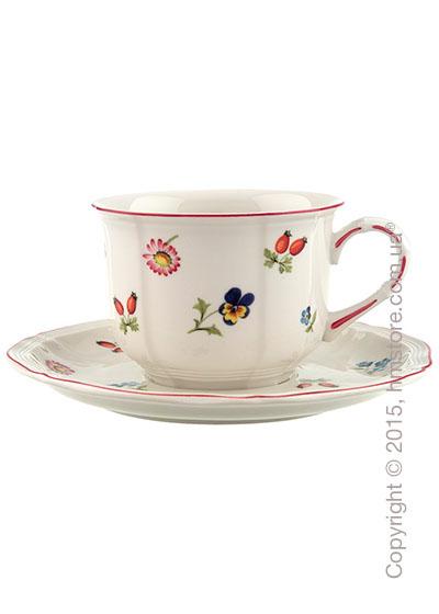 Чашка с блюдцем Villeroy & Boch коллекция Petite Fleur 350 мл, 2 предмета