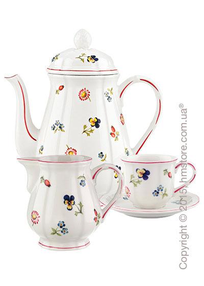 Кофейный сервиз Villeroy & Boch коллекция Petite Fleur  на 6 персон, 15 предметов