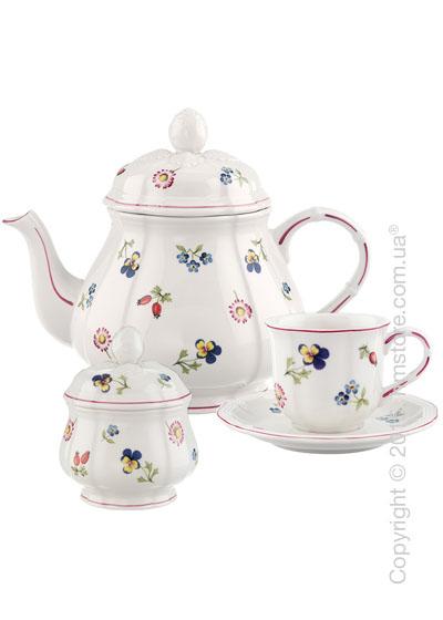 Чайный сервиз Villeroy & Boch коллекция Petite Fleur  на 6 персон, 14 предметов