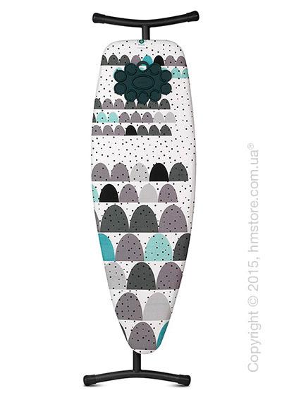 Гладильная доска Brabantia Silicone Pad, Black Dunes