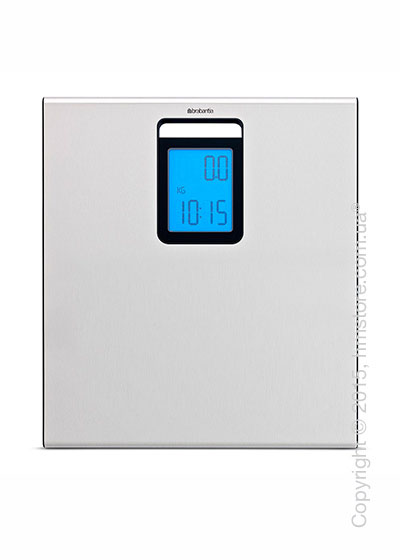 Напольные весы Brabantia Digital Bathroom Scales, Matt Steel