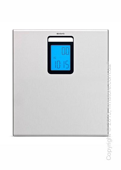 Напольные весы Brabantia Digital Bathroom Scales, Matt Steel