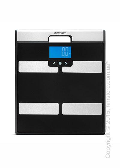 Напольные весы Brabantia Body Analysis Scales, Black