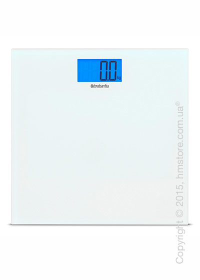 Напольные весы Brabantia Digital Bathroom Scales, White