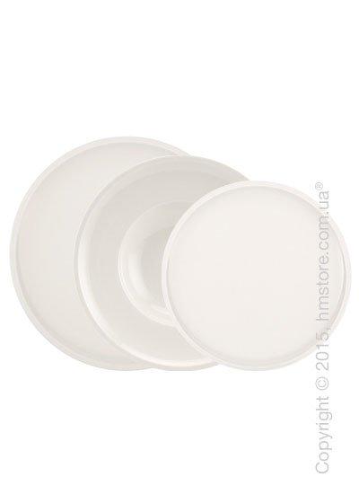 Набор тарелок Villeroy & Boch коллекция Artesano Original на 4 персоны, 12 предметов. Купить