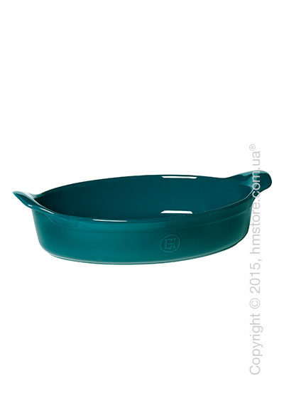 Форма для выпечки керамическая  34 х 23 Emile Henry Ovenware, Blue Flame