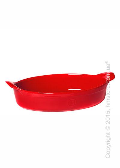 Форма для выпечки керамическая 34 х 23 см Emile Henry Ovenware, Burgundy