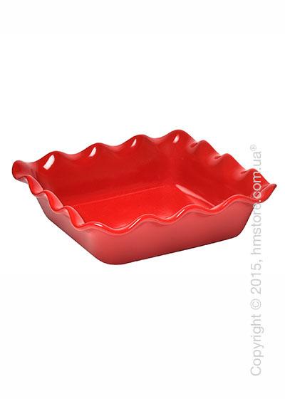 Форма для выпечки керамическая 24х24 см Emile Henry Bakeware, Burgundy