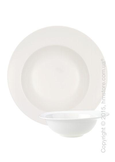 Набор тарелок для пасты Villeroy & Boch коллекция Flow Pasta на 4 персоны, 5 предметов
