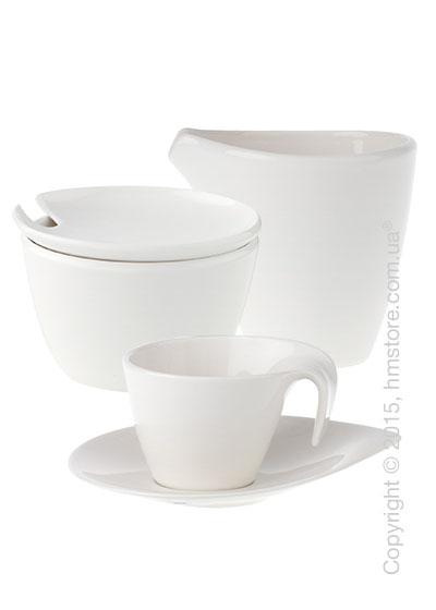 Кофейный сервиз Villeroy & Boch коллекция Flow на 6 персон, 14 предметов
