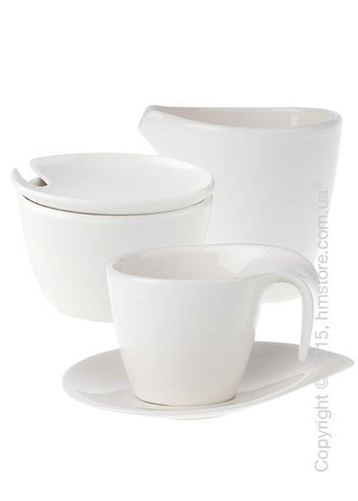 Чайный сервиз Villeroy & Boch коллекция Flow на 6 персон, 14 предметов