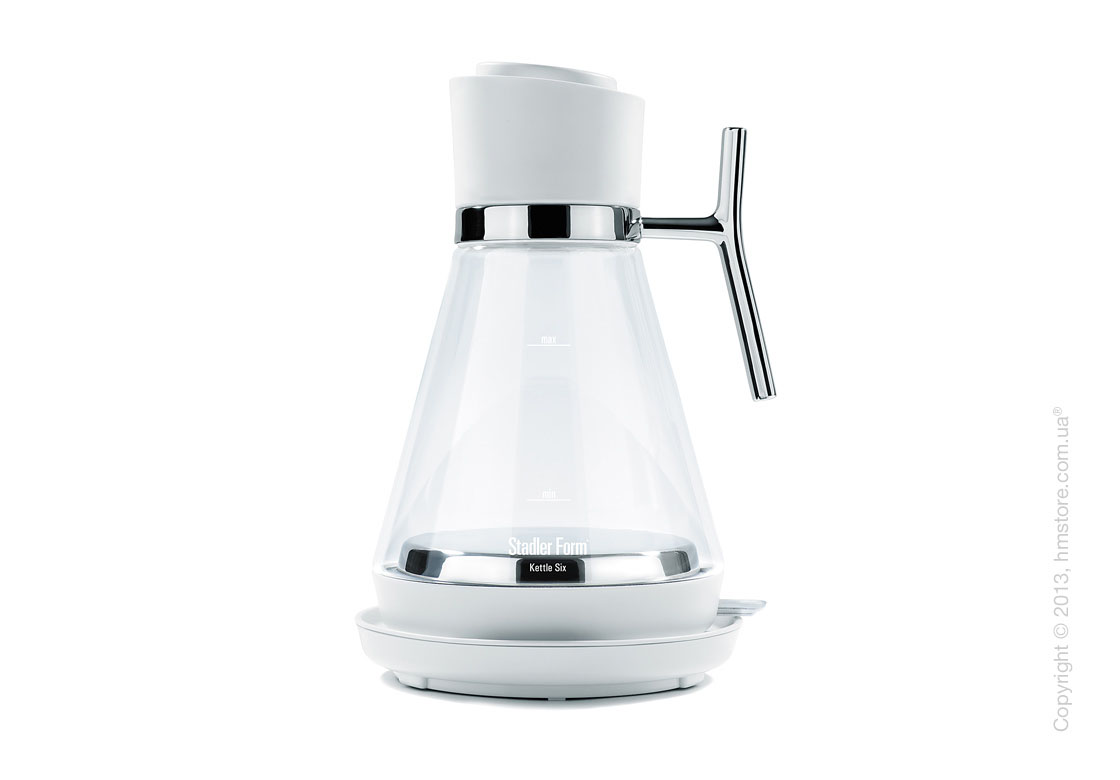 Чайник электрический Stadler Form Kettle Six, White (Swizz Style)