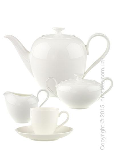 Кофейный сервиз Villeroy & Boch коллекция Anmut на 6 персон, 15 предметов