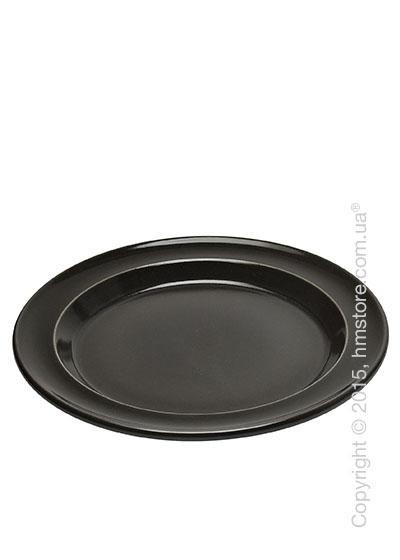 Тарелка столовая мелкая Emile Henry Tableware, Charcoal