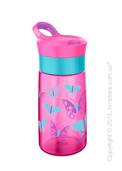 Детская фляга Contigo Gracie, Petal pink butterflies 420 мл