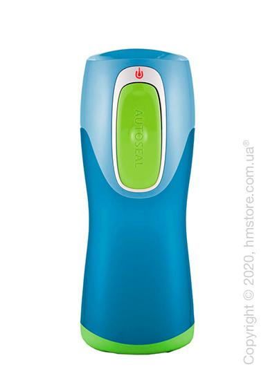 Бутылка спортивная детская Contigo Runabout, Green and Melon Red 270 мл