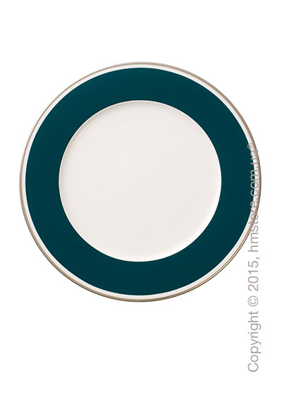 Тарелка десертная мелкая Villeroy & Boch коллекция Anmut My Color, Emerald Green