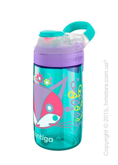 Детская фляга Contigo Gizmo Sip, Ultramarine Perrfect 420 мл