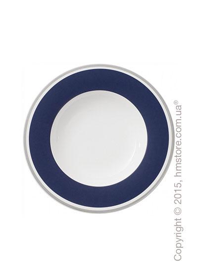Тарелка столовая глубокая Villeroy & Boch коллекция Anmut My Color, Ocean Blue
