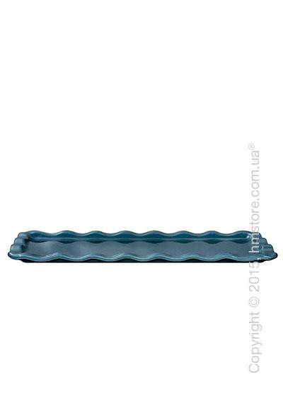 Противень керамический Emile Henry Natural Chic, Blue Flame