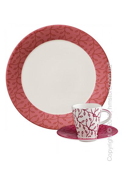 Кофейный сервиз Villeroy & Boch коллекция Caffè Club Floral на 6 персон, 18 предметов, Berry
