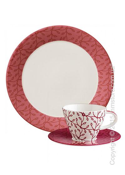 Чайный сервиз  Villeroy & Boch коллекция Caffè Club Floral на 6 персон, 18 предметов, Berry