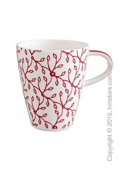 Чашка Villeroy & Boch коллекция Caffe Club Floral 350 мл, Berry