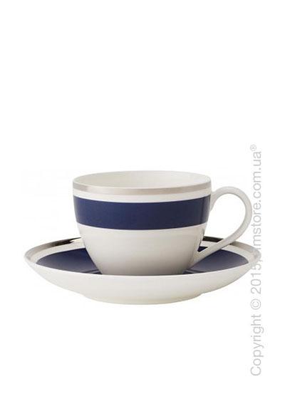 Чашка с блюдцем Villeroy & Boch коллекция Anmut My Color, Ocean Blue