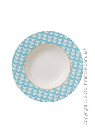 Тарелка столовая глубокая Villeroy & Boch коллекция Lina, Aqua