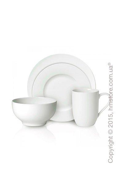 Набор фарфоровой посуды Villeroy & Boch коллекция For Me на 4 персоны, 16 предметов. Купить